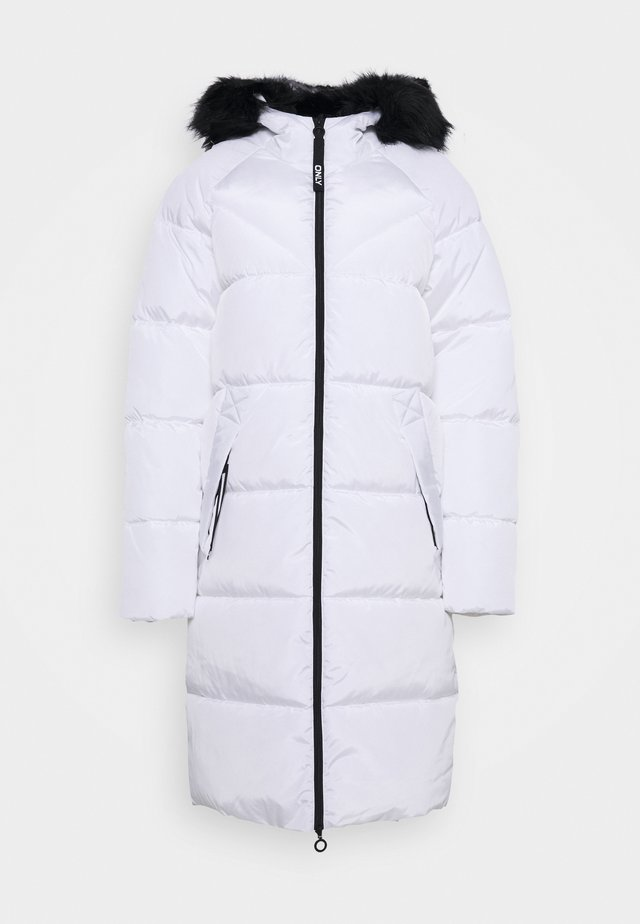 ONLMONICA LONG PUFFER COAT - Wintermantel - bright white