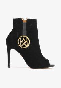 Kazar - MEGAN - Peeptoe heels - black - 0