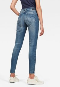 G-Star - LYNN MID SKINNY - Jeans Skinny Fit - antic blue - 1