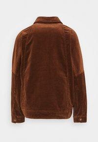 Marc O'Polo - JACKET RAGLAN SLEEVE TURN DOWN - Summer jacket - chestnut brown - 1