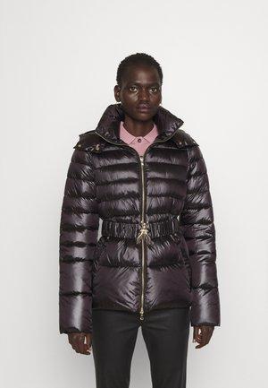 PUFFER BELTED - Winter jacket - nero