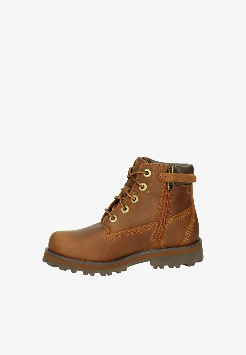 Timberland - Lace-up ankle boots - cognac