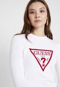 Guess - KUMIKO - Long sleeved top - true white - 4