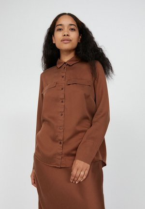 TAIMEAA - Button-down blouse - cacao