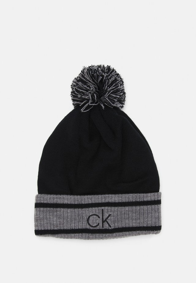 BANFF BEANIE - Muts - black/grey marl