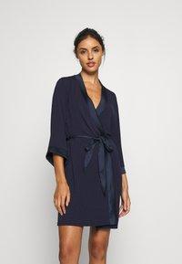 Anna Field - Dressing gown - navy - 1