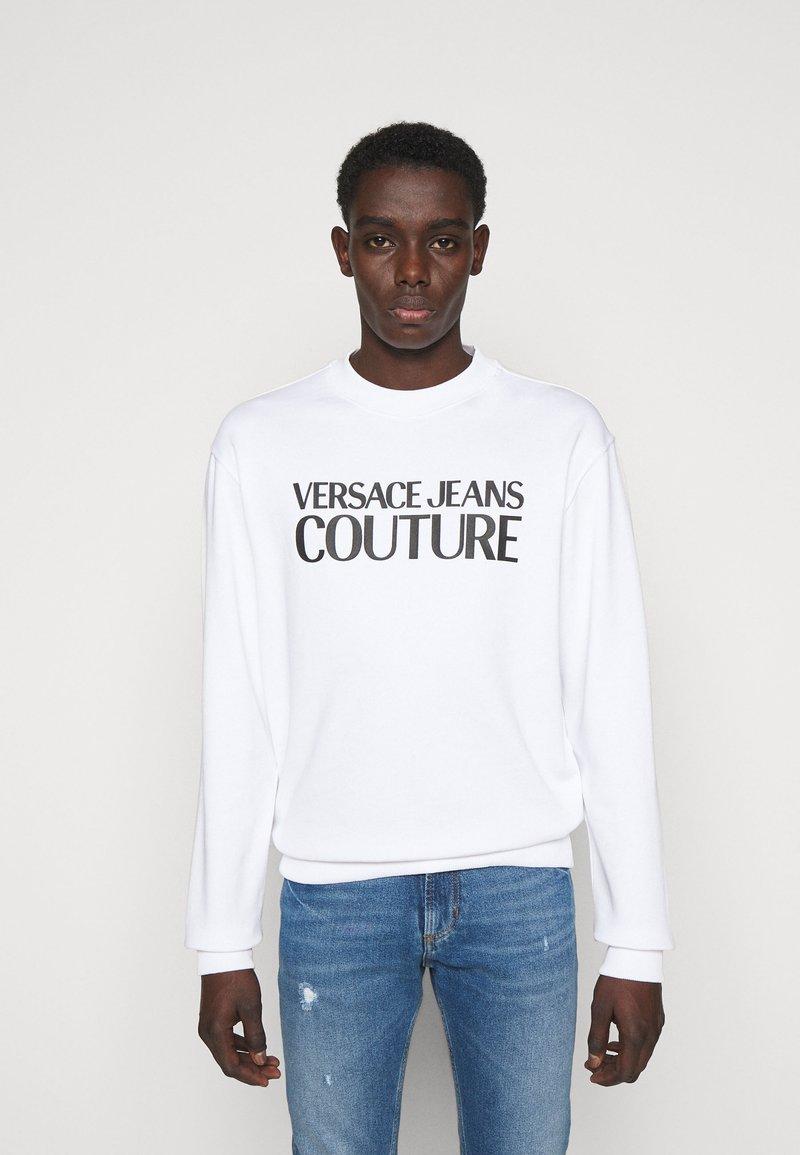 Versace Jeans Couture - FELPA - Sweatshirt - white