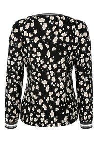 Alba Moda - Long sleeved top - schwarz,off-white,taupe - 7