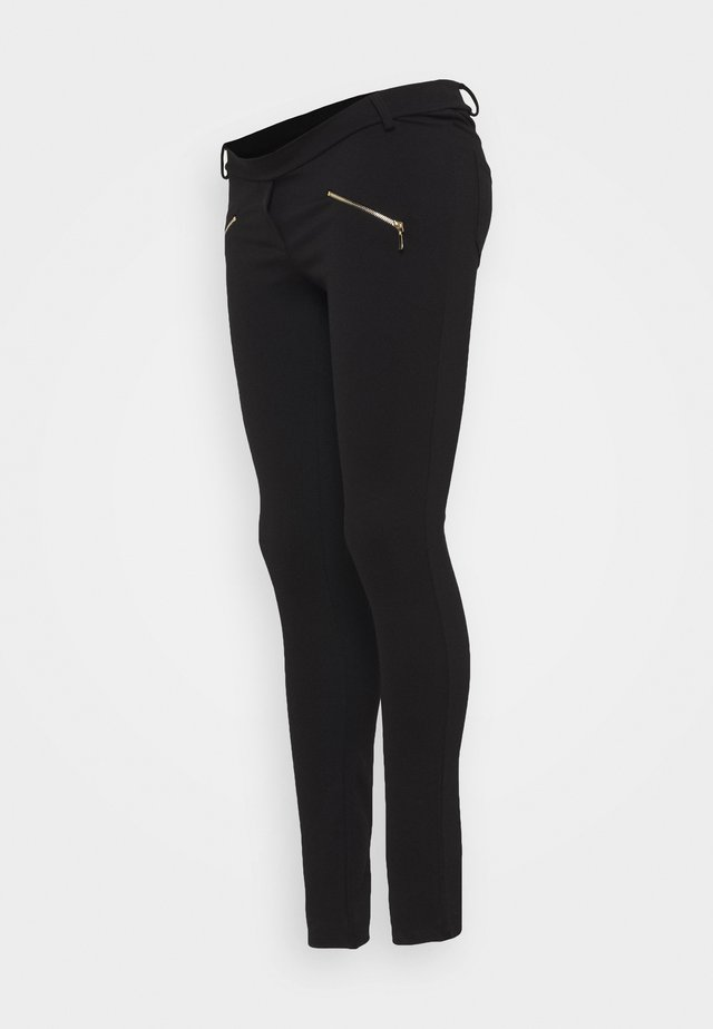 ZIPPY - Leggings - Trousers - black