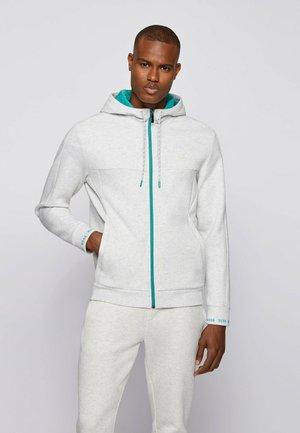 SAGGY  - Zip-up sweatshirt - light grey