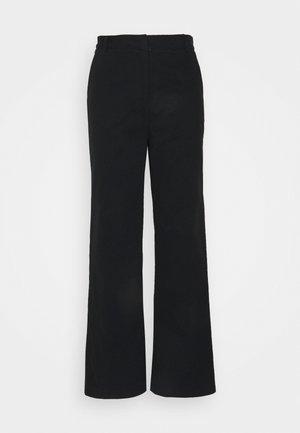 LEA PANTS - Pantalon classique - black