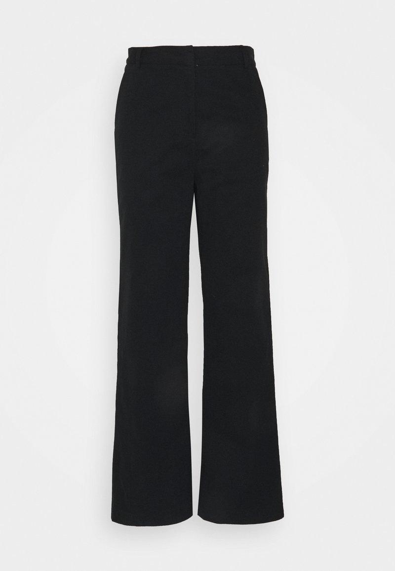 Lovechild - LEA PANTS - Kalhoty - black