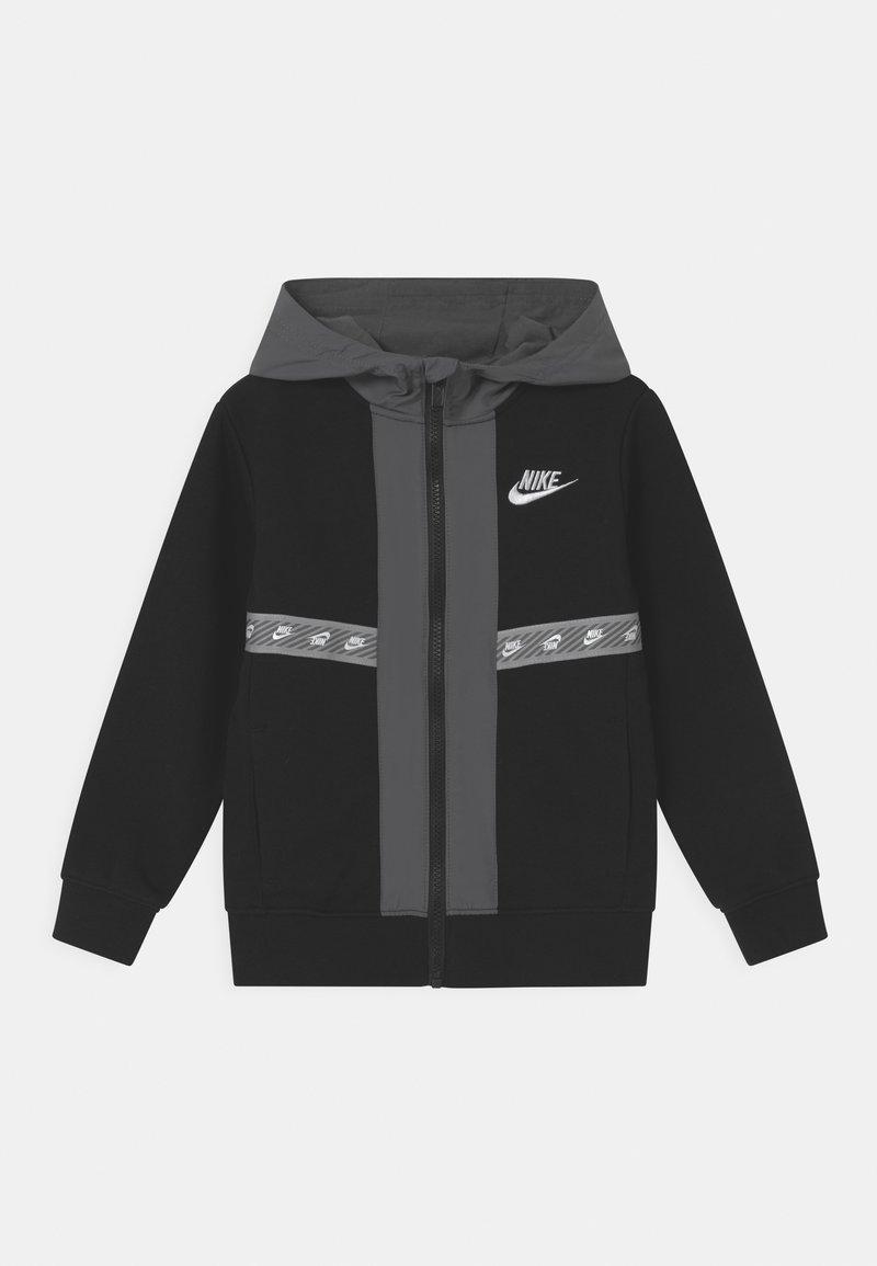Nike Sportswear - ELEVATED TRIMS FULL ZIP - Felpa con zip - black