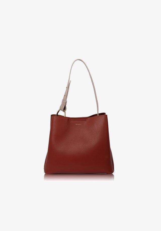 Handbag - 323406 rust/taupe