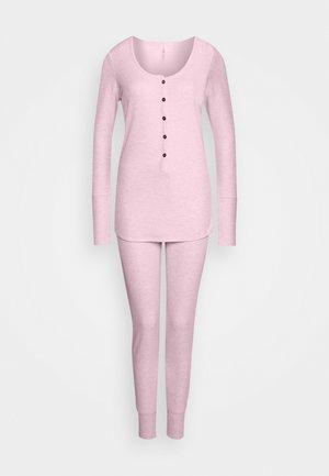 HENLEY LONG JOHN SET - Pyjama set - crystal pinkmarle
