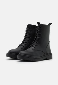 Rubi Shoes by Cotton On - FREDA LACE UP BOOT - Šněrovací kotníkové boty - black - 2