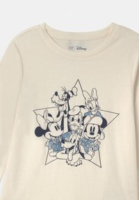 GAP - GIRL DISNEY MICKEY MOUSE & FRIENDS - Long sleeved top - ivory frost - 2