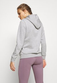 adidas Performance - Jersey con capucha - grey/pink - 2