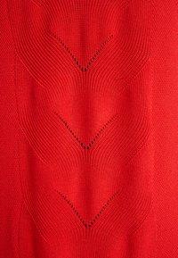 Zizzi - MALICIA CARDIGAN - Kardigan - flame scarlet - 5