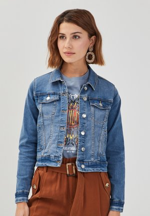Denim jacket - denim double stone