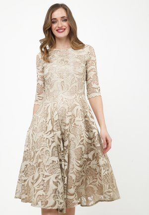 GLORIA - Cocktail dress / Party dress - beige