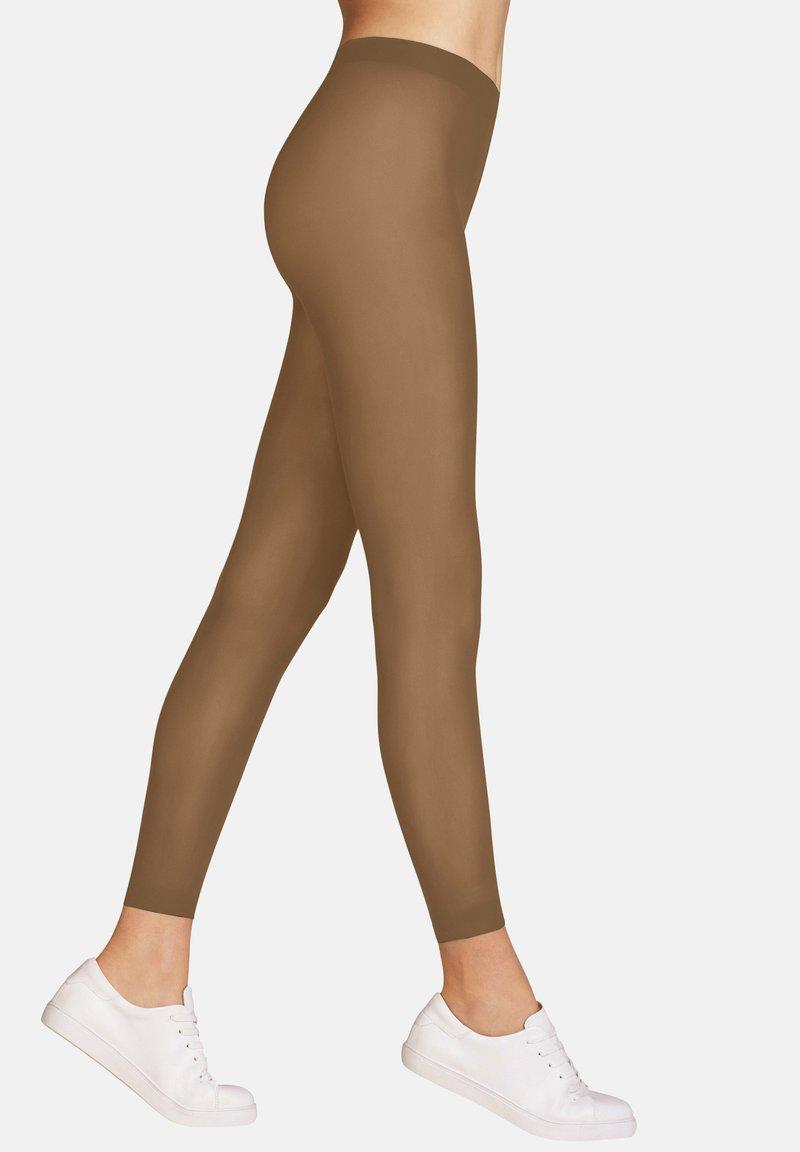FALKE - Leggings - Stockings - powder (4069)