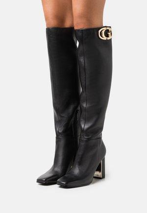 ELANDRE - Over-the-knee boots - black