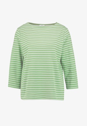Collegepaita - green horizontal