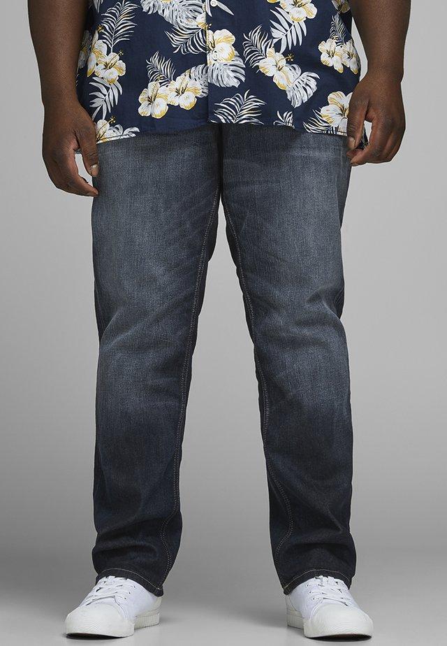 PLUS SIZE REGULAR FIT JEANS CLARK ORIGINAL JOS  - Straight leg jeans - blue denim