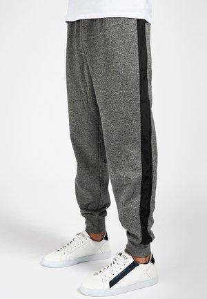 Trousers - mehrfarbig grau