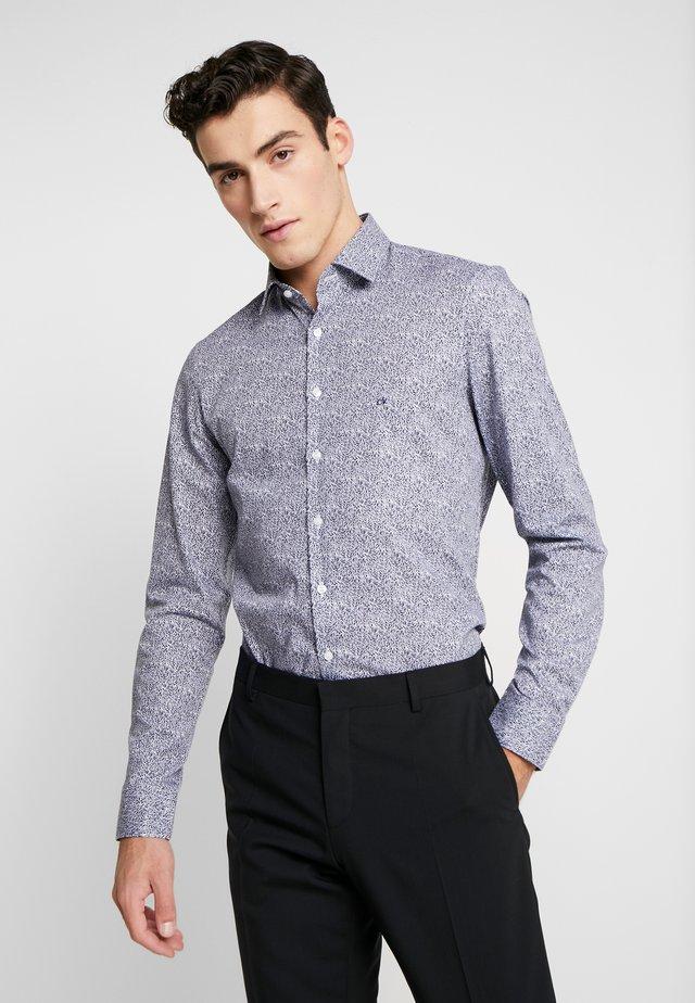 SLIM SHIRT - Camisa elegante - blue