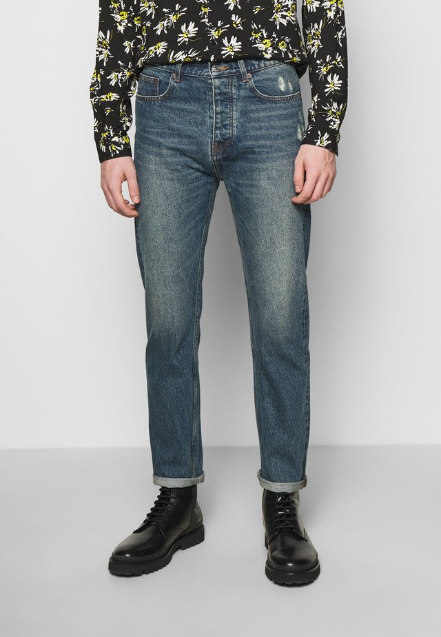 Jeans a sigaretta - blue vintage