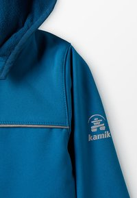 Kamik - JARVIS MIT MAGIC OBERFLÄCHE - Soft shell jacket - petrol - 5