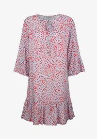 Alba Moda - Day dress - blau/koralle - 5