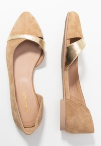 Anna Field - LEATHER  - Baleríny - beige - 3