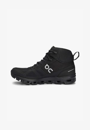 Hiking shoes - all black
