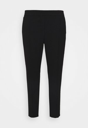 PULL ON KAREN CREPE - Trousers - black