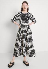 b.young - FLOURI ETHNIC DRESS - Day dress - black - 3