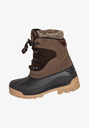 SÖLDEN JUNIOR - Winter boots - dunkelbraun