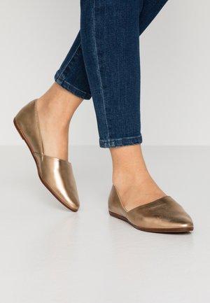 BLANCHETTE - Nazouvací boty - bronze