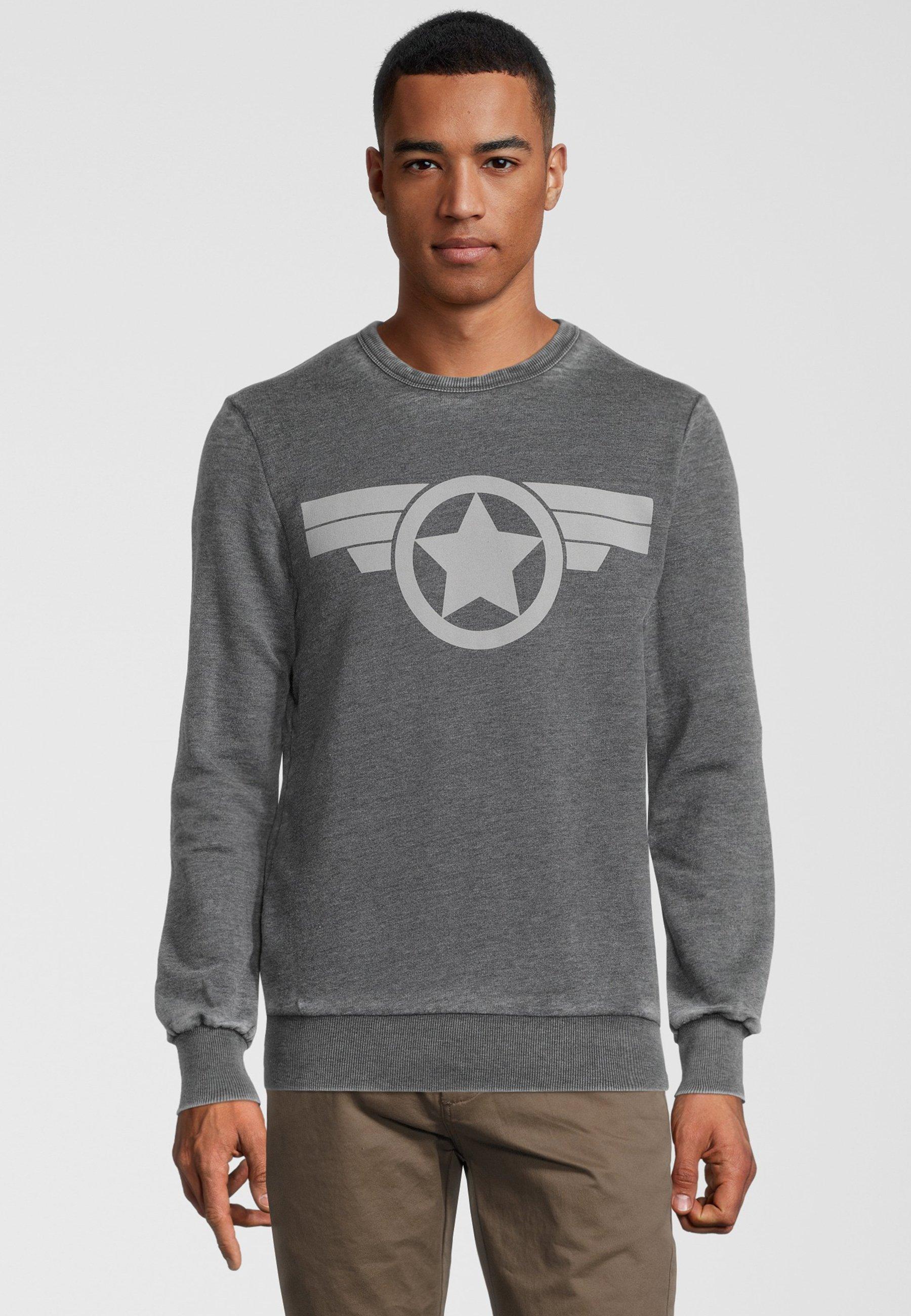 Homme MARVEL CAPTAIN AMERICA ICON - Sweatshirt