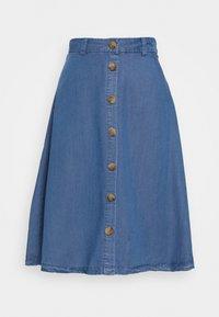 ONLY Petite - ONLMANHATTAN SKIRT - Denim skirt - dark blue denim - 0