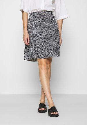 LAURALEE RAYE SKIRT - Áčková sukně - dark blue