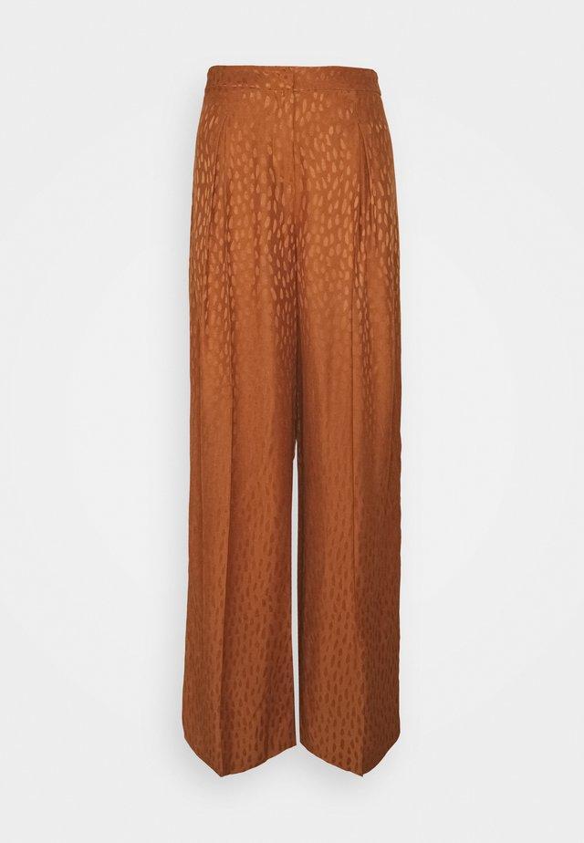EMARIE - Pantalon classique - terre d'argilebrown
