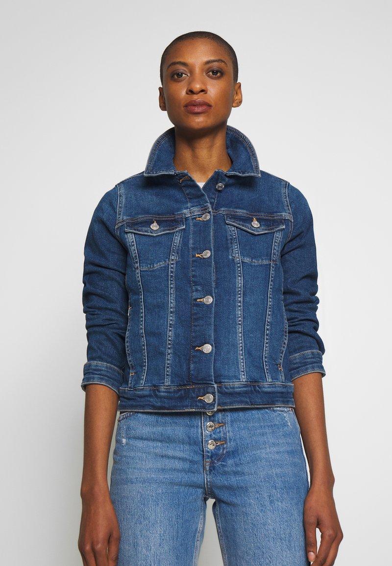 s.Oliver - LANGARM - Denim jacket - blue denim