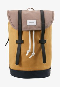 multi earth brown/honey yellow/navy