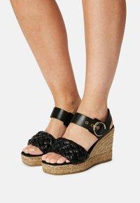 Kanna - SONIA - Platform sandals - schwarz - 0