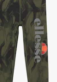 Ellesse - BRULAN PERFORMANCE LEGGING - Punčochy - dark green - 3
