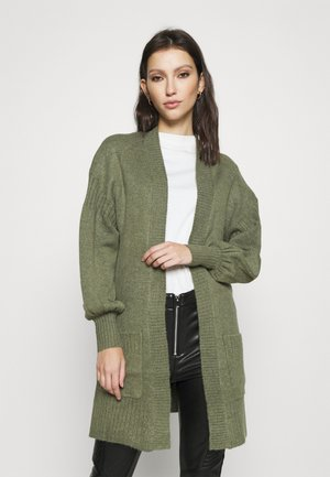 MODERN NEW EDGE TO EDGE - Cardigan - khaki