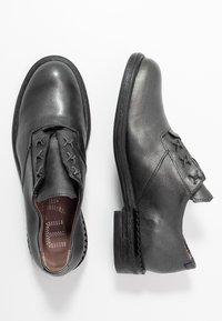 MJUS - Šněrovací boty - gunmetal - 3